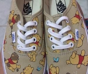disney, vans off the wall, and cute image
