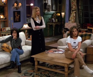 apartment, monica geller, and phoebe buffay image