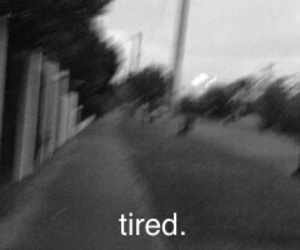 grunge, header, and tired image