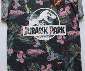 Jurassic Park, rad, and t-shirt image