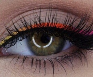 beauty, black, and eyebrow image
