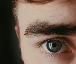 eyes, connor franta, and eye image