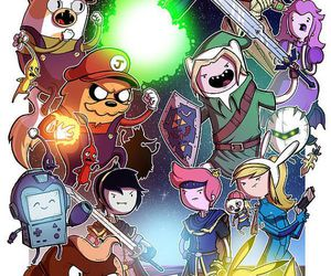adventure time, finn, and game image