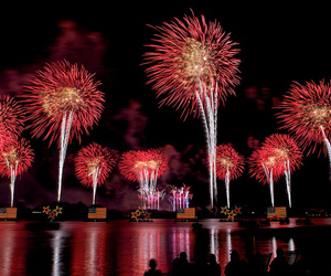 day, fireworks, and independence image