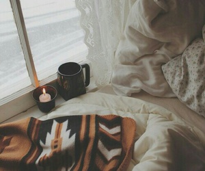 autumn, bed, and fall image