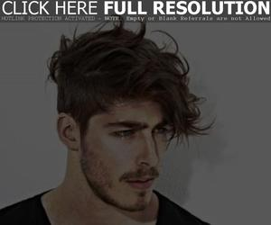 hairstyles, men, and haircuts image