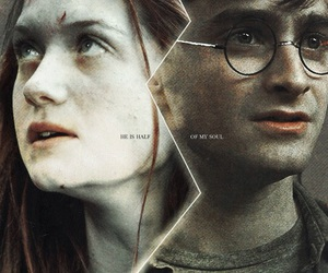 ginny weasley, harry potter, and love image