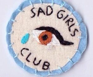 sad, tumblr, and blue image