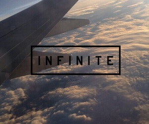 infinite, clouds, and sky image
