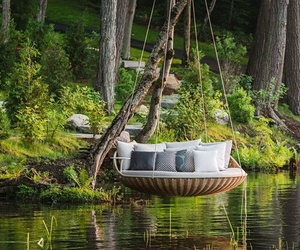 nature, relax, and bed image