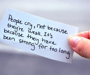 quotes, cry, and people image