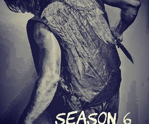norman reedus, the walking dead, and season 6 image