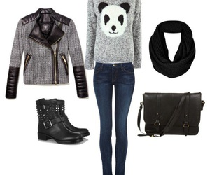 outfit and panda image