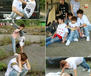 infinite, sungyeol, and woohyun image