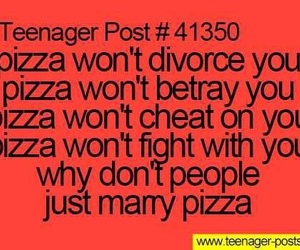 pizza, funny, and post image