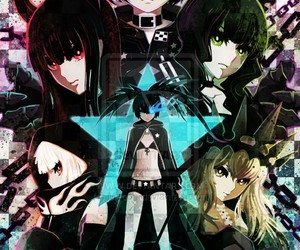 anime, epic, and black rock shooter image
