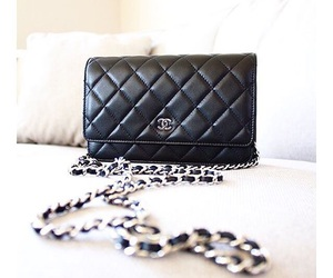 chanel, classy, and black chanel purse image