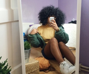 Afro and clothes image