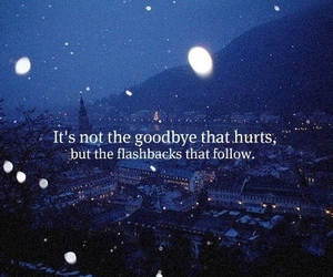 quotes, goodbye, and hurt image
