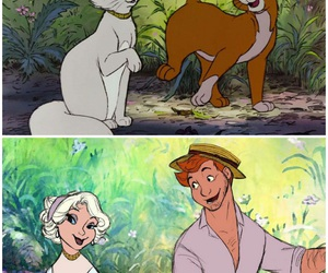 disney, cat, and movie image