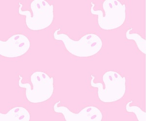 ghost, pastel, and pink image