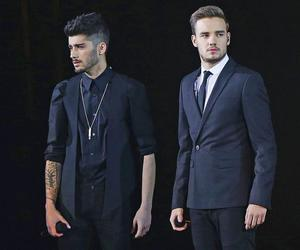 ziam, one direction, and liam payne image