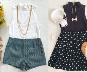 outfit, dress, and moda image