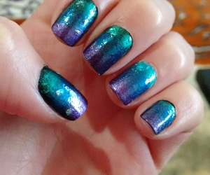 colorful, hand, and nails image
