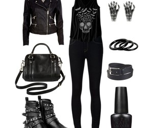 black, date, and goth image