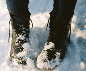 boots, cold, and winter image