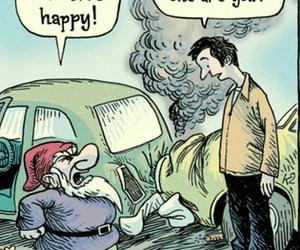 cartoon, dwarf, and happy image
