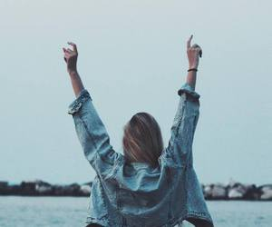 girl, free, and hipster image