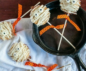 food photography, Halloween, and Pumpkin Pie image