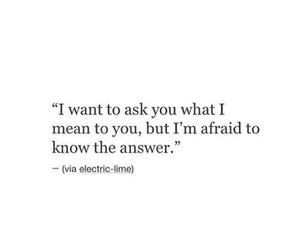 quote, afraid, and love image