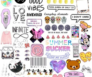 girly, hipster, and pink image