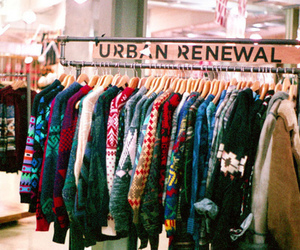 clothes, urban, and sweater image