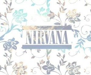nirvana, background, and music image