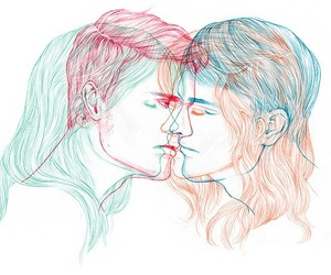 art, gay rights, and bisexual image