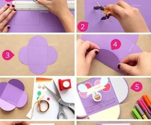 diy, card, and tutorial image