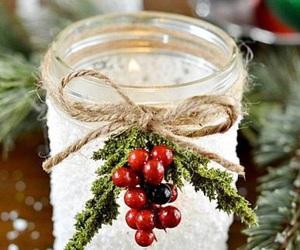 christmas, diy, and decor image