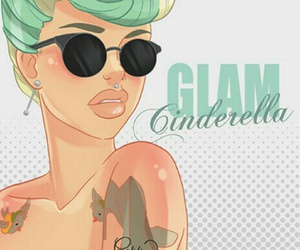 cinderella, disney, and glam image