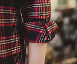 autumn, cozy, and flannel image