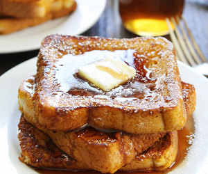 breakfast, pumpkin spice, and french toast image