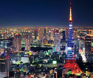 japan, tokyo, and city image