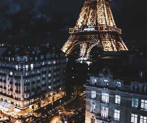 paris, city, and night image