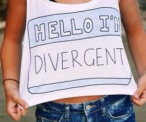divergent, outfit, and hello image