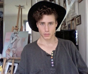 pale, art, and guy image