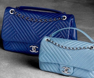 bags, beautiful, and blue image