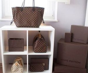 bag, Louis Vuitton, and fashion image