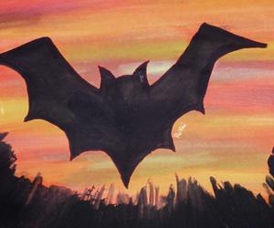 bat, Halloween, and batman image
